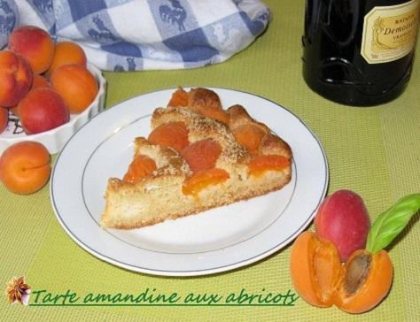 recette de la tarte amandine aux abricots