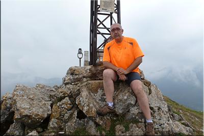 Murugain mendiaren gailurra 778 m.  --  2014ko uztailaren 26an