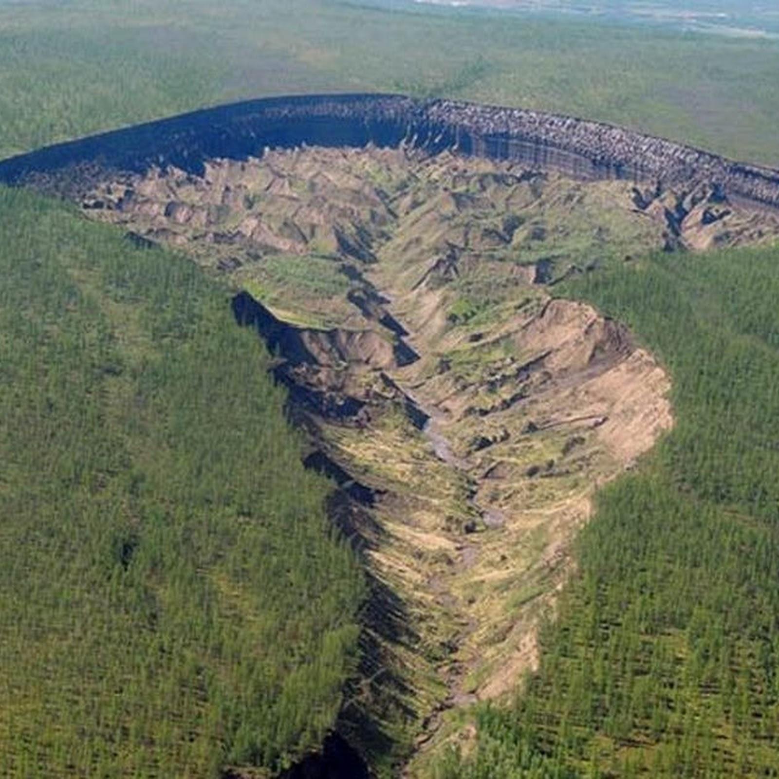Batagaika Crater, Siberia