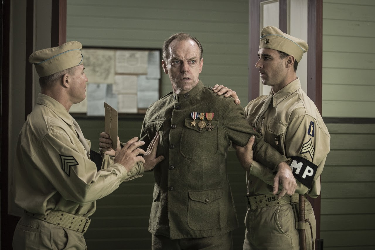 Hugo Weaving stars as 'Tom Doss' in HACKSAW RIDGE. (Photo by Mark Rogers / Lionsgate).