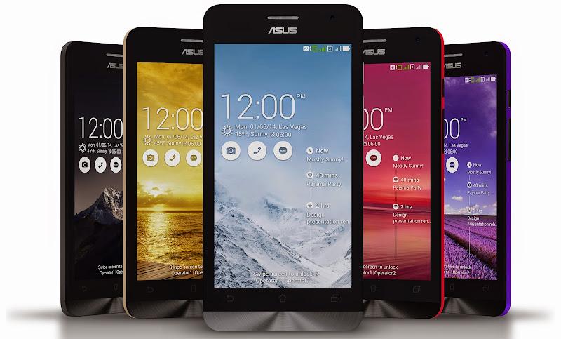 Asus покажет 5,5-дюймовый ZenFone в январе 2015