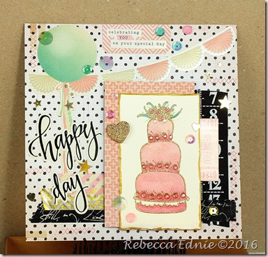 free style cake card