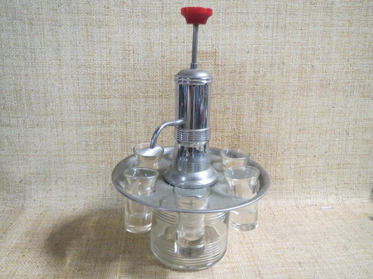 Vintage Liquor Dispenser
