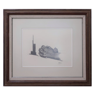 Signed Graphite Drawing, 1979