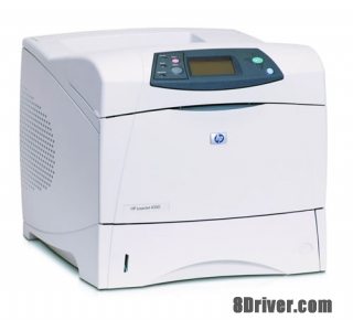Download HP LaserJet 4350n Printer drivers and install