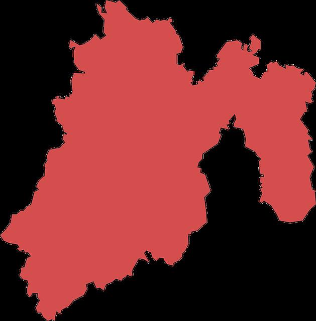 vector mapa estado de mexico
