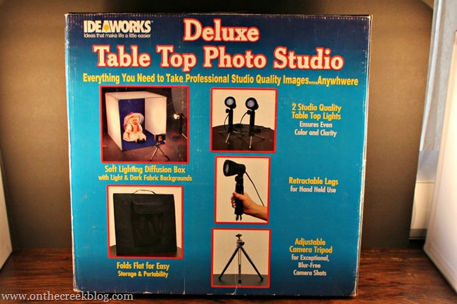 Deluxe Table Top Photo Studio