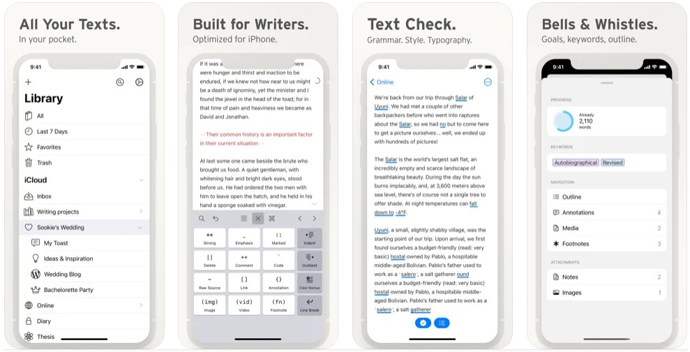 Ulysses- The ultimate writing app