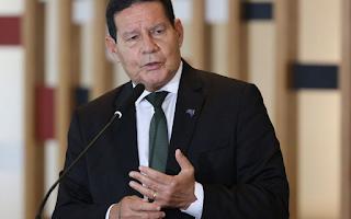 Vice-presidente Hamilton Mourão está  com Covid-19