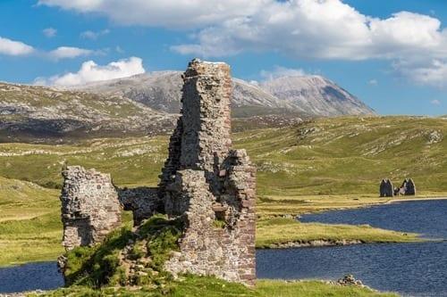 Ardvreck Castle Scottish Highland and Skye Tour