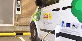 Distribución de mercancías con vehículos eléctricos por TNT Express y Calidad Pascual