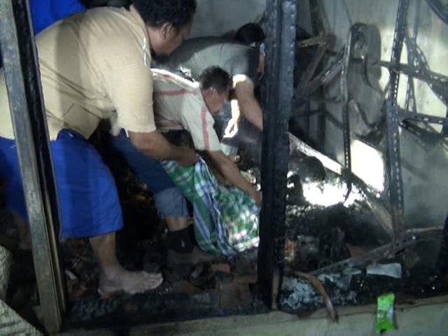 Rumah Terbakar, Ibu dan Anak Meregang Nyawa
