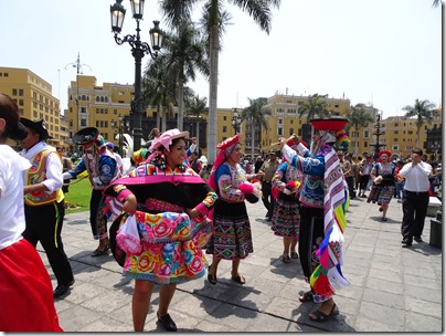 Parade in Plaza