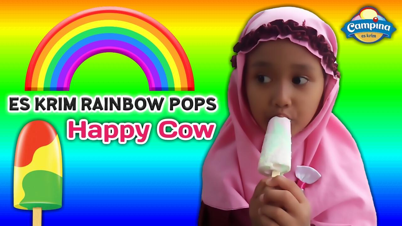 ... cow rainbow pops atau es krim rasa susu cotton candy yang segarnya  bikin minta lagi apalagi kalau makan es krimnya di siang hari pasti seger  banget c6f9e176e8