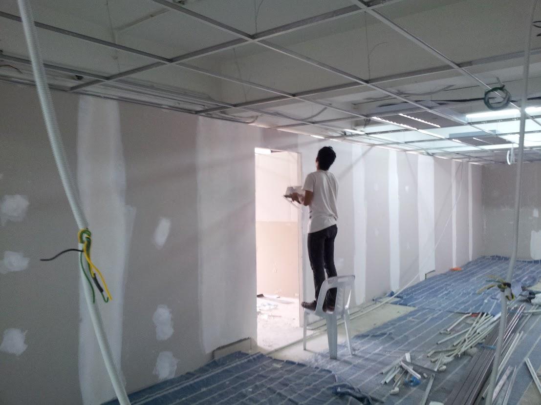 plaster gypsum partition