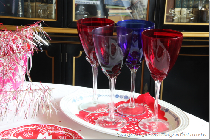 Valentine Table Wine Stems