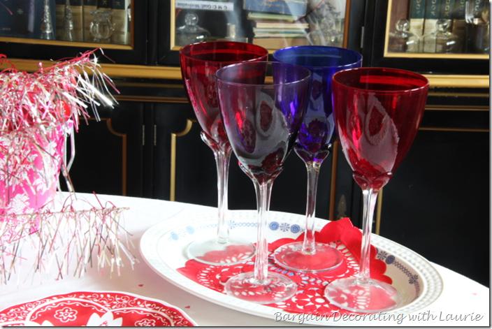 Valentine Table Wine Stems