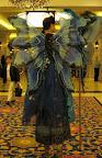 Blue Fairy Wings on Stilts