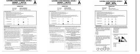 Soal Ujian Sekolah (US) SMP MTS Tahun 2022 Tahun Pelajaran 2021/2022