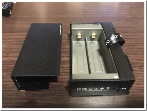 IMG 4496 thumb - 【カクカク】「VOOPOO Alfa One 222W」(ヴープー・アルファワン)レビュー!90年代を思わせる独特のSF感あるハイパワーMOD、222Wを使いこなし、究極の爆煙マンを目指せ!【テクニカル/SF/デザイナーズ】