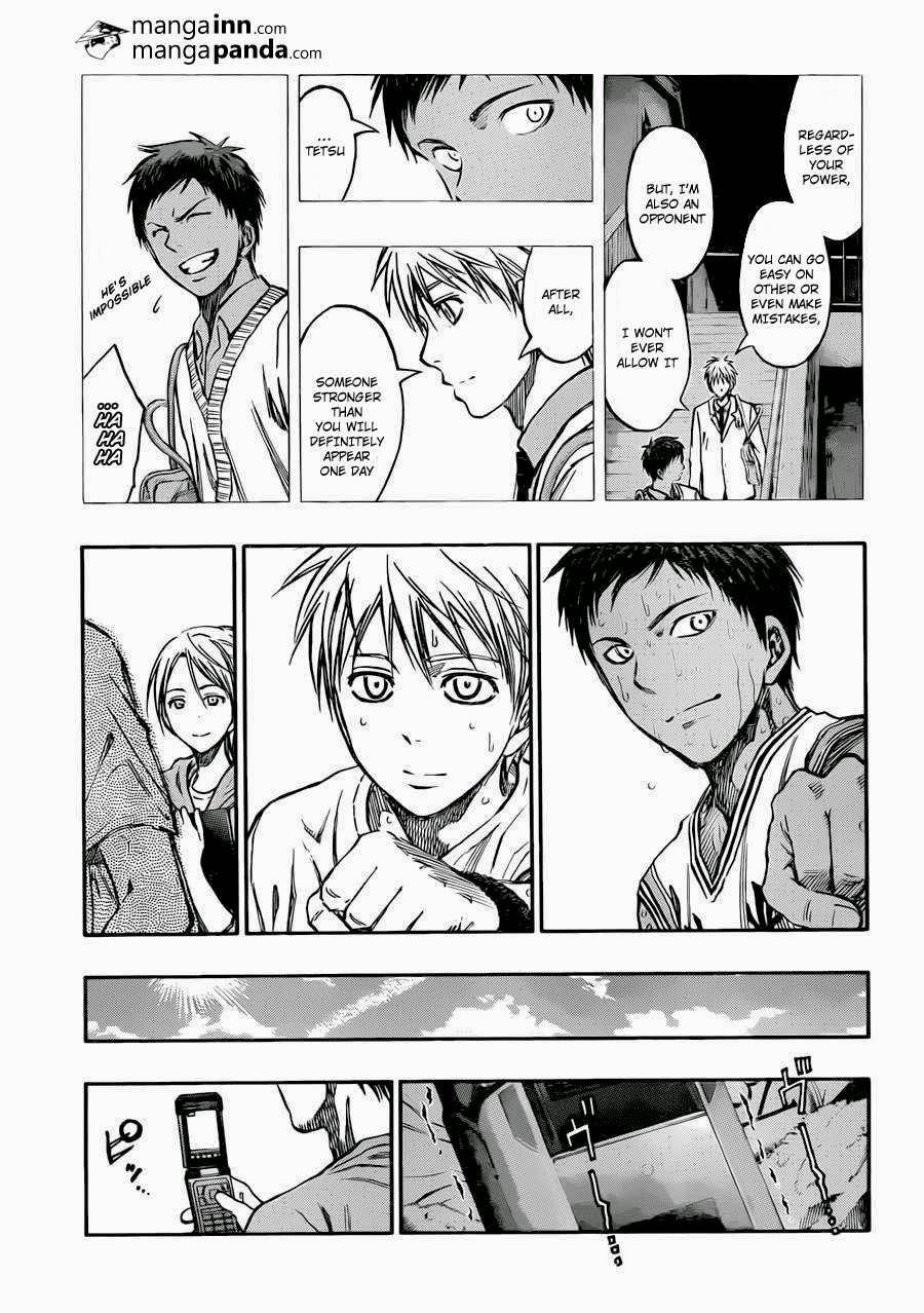 Kuroko no Basket Manga Chapter 214 - Image 17