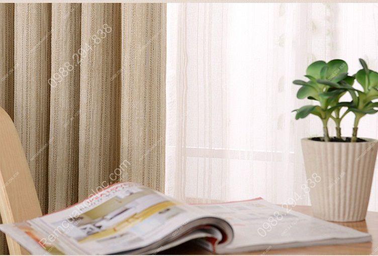 Rèm cửa đẹp ở hà nội một màu nhung lịch lãm 14