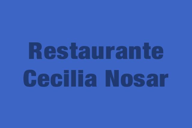 Restaurante Cecilia Nosar es Partner de la Alianza Tarjeta al 10% Efectiva