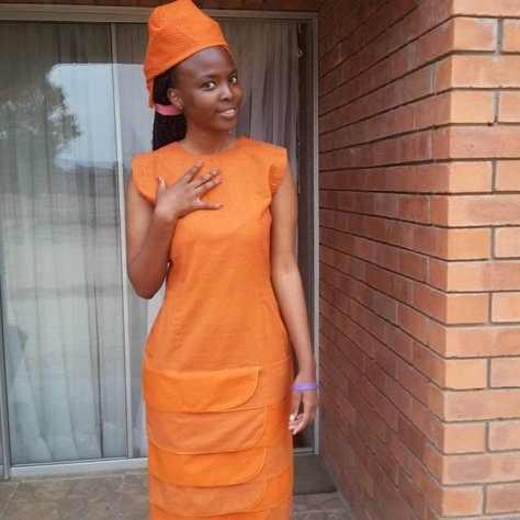 Traditional Shweshwe Dresses 2018 African Traditional Clothing 9