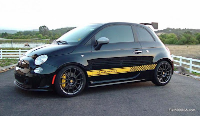 Fiat 500 Abarth Performance Mods | Fiat 500 USA