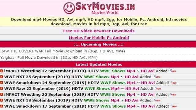 SkymoviesHD 2021- illegal movies Downloading website