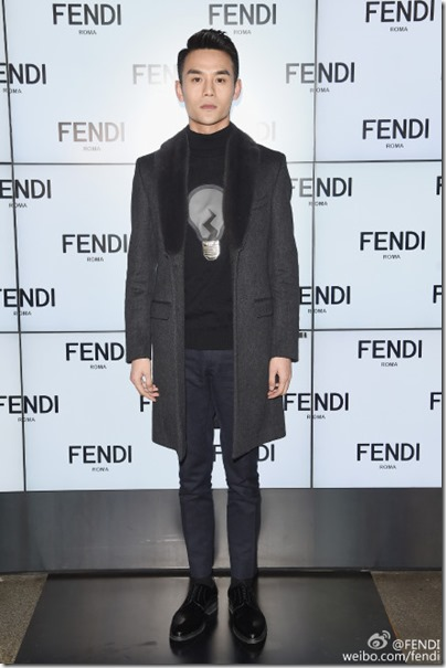 2016.01.18 Wang Kai X Milan Fashion Week AF16 X FENDI 王凱 2016秋冬男裝週 09