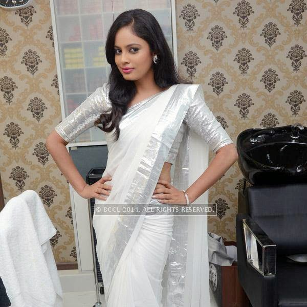 Nandita at the launch of Essensuals salon in Chennai.