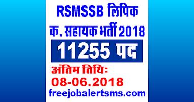 RSMSSB LDC Bharti 2018