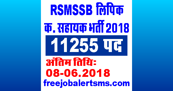 RSMSSB LDC (Clerk Grade-II) Bharti 2018 | Phase II Typing Test Exam Date, Admit Card