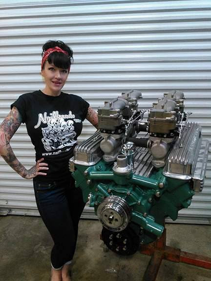 New Nailhead T shirts, hats and more.. go to rodnpistons.com