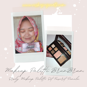 Makeup Palette BrunBrun, Srsly Makeup Palette Set Favorit Pemula