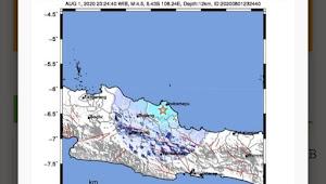 Gempa Bumi Tektonik M4.5 DI INDRAMAYU, Tidak Berpotensi Tsunami