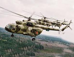 Боевые вертолеты армии России
