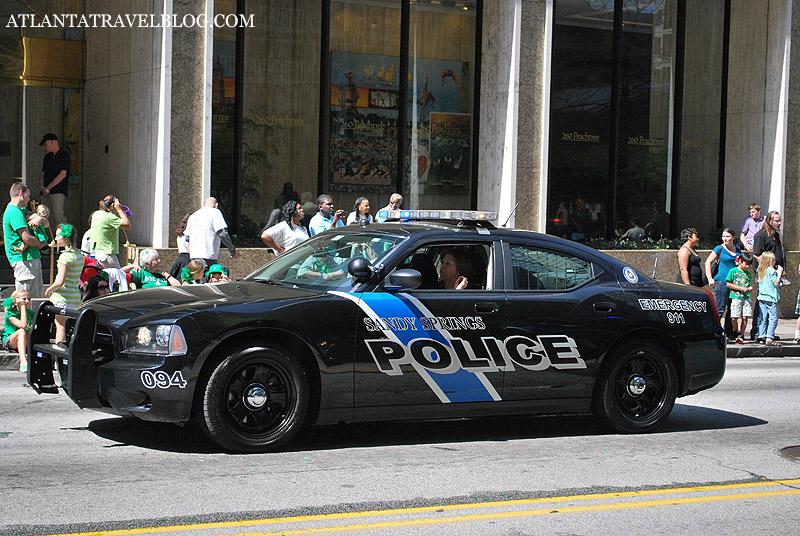 Полицейские автомобили Атланты Atlanta Travel