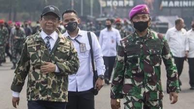 Ternyata, Mahfud MD Lebih Galak dari Jenderal Dudung Abdurachman.