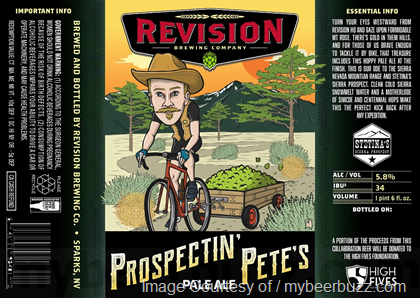 Revision Brewing Pete's Pale Ale