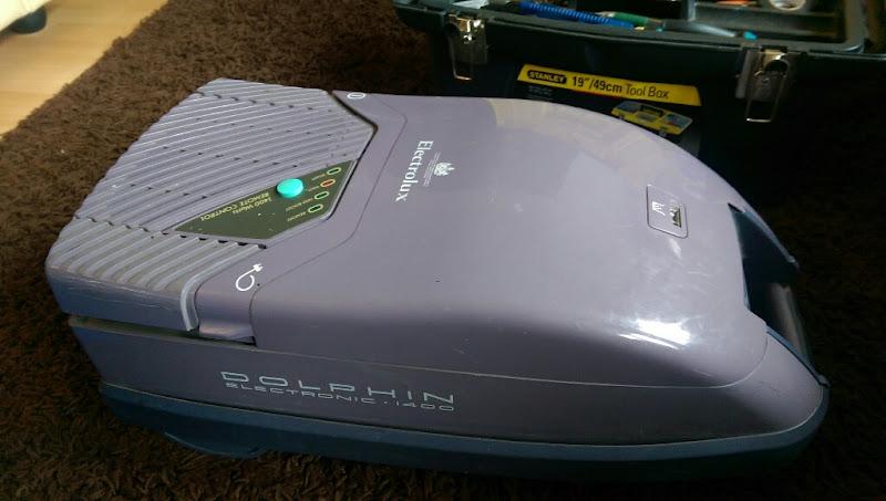 Electrolux Dolphin Z2260 Electronic 4x4