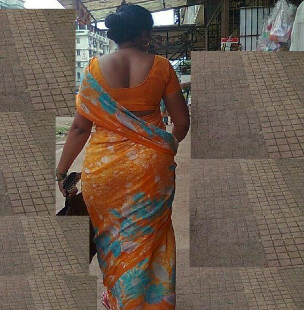Your Bhabhi ass in saree