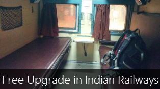 How to upgrade yourself for free in Indian Railways?