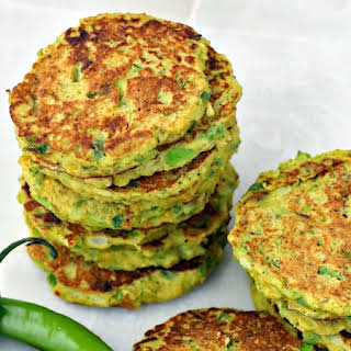Savory Cauliflower and Broccoli Pancakes (Low Carb).