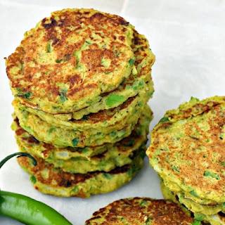 Savory Cauliflower and Broccoli Pancakes (Low Carb).