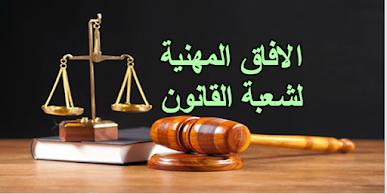 آفاق شعبة القانون في الجامعة و مميزاتها و عيوبها في المغرب