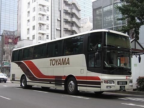富山地方鉄道「富山~仙台線」 日産スペースウィング