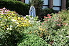 Blessed Mother's Shrine Overlooking the Gardens