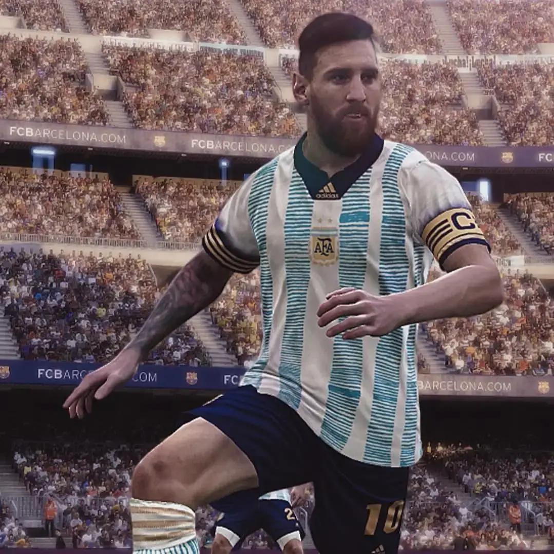Bocoran Jersey Argentina COPA Amerika 2020-2021 Home dan Away